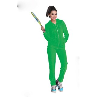 Nitrite Sportswear Poison Green  Tracksuit For Women