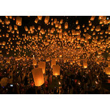 Summer Special... Sky Lantern Wishing Balloon Set Of 7 New Year Special