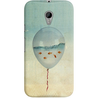The Fappy Store balloon-fish -1  Blue Back Cover for Moto G3