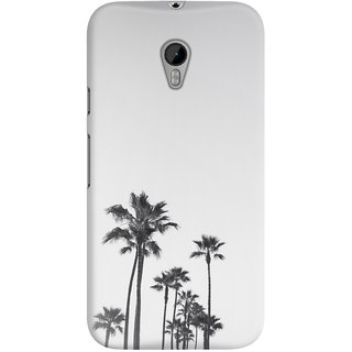 The Fappy Store black-and-white-california-palms White Back Cover for Moto G3