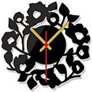 acrylic 3d wall clock by h.k. art