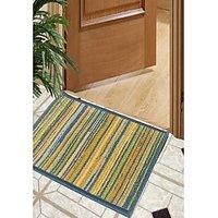 BIANCA Splender Door Mat with  Nylon Fiber  High Density Rubber Backing