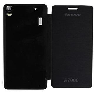 ClickAway Flip Cover For Lenovo K3 Note (Black)