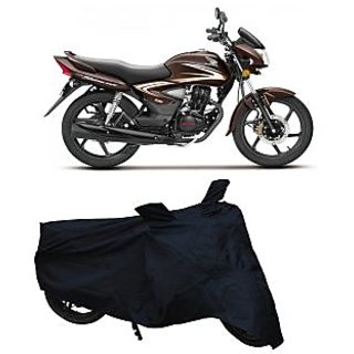 Superior Quality Bike Body Cover Black Colour for Honda Shine
