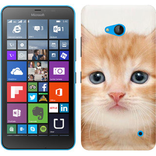 WOW Printed Back Cover Case for Microsoft Lumia 640