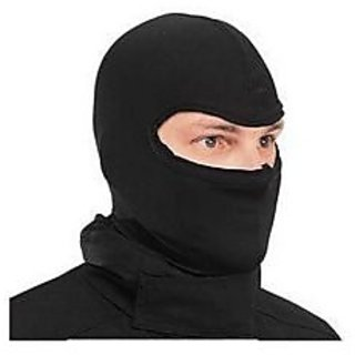Universal Black Full Face Riding Mask