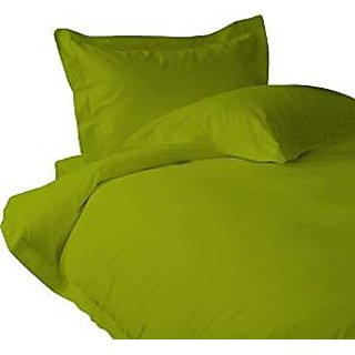 Classic Hotel Quality 1Pc Duvet Cover 2200 Thread Count Single 100 Microfiber Sage Solid By Hothaat