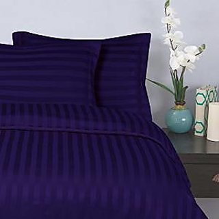 Classic Hotel Quality 1Pc Duvet Cover 300 Thread Count Queen 100 Organic Cotton Egyptian Blue Stripe By Hothaat