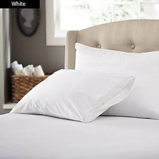 Super Soft And Elegant 4Pc Sheet Set 500 Thread Count Double 100 Organic Cotton White Solid By Hothaat