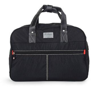 Integriti Black Polyester Duffel Bag (No Wheels) ee61fe40711b6