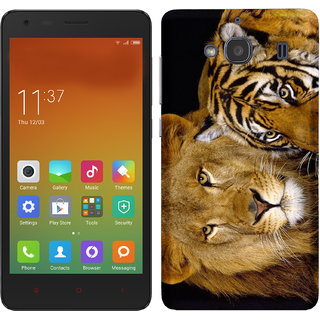 WOW Printed Back Cover Case for Redmi 2