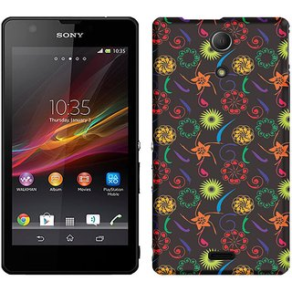 WOW Printed Back Cover Case for Sony Xperia ZR
