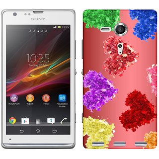 WOW Printed Back Cover Case for Sony Xperia SP
