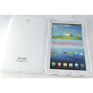SGP Silicone Back Case For SAMSUNG GALAXY TAB 3 P3200 7  white