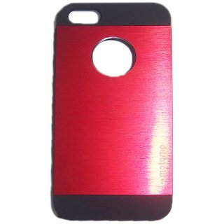 Red Stylish Motomo Hard Back Cover Case for Apple iPhone 4G / 4S