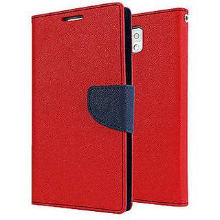 ClickAwayFlip Cover For Samsung Galaxy J7 (Red)