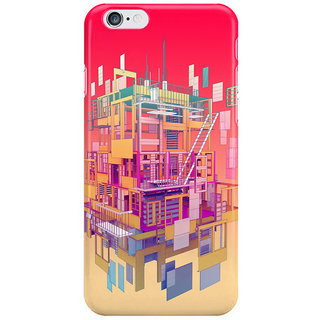 The Fappy Store Building-Clouds Back Cover For Iphone 6 Plus