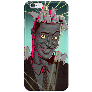 The Fappy Store Kitten-Head Back Cover For Iphone 6 Plus
