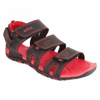 Berasche  Men/Boys Red  Black-894 Sandal  Floaters