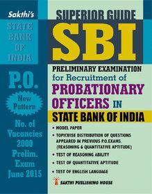 BANK EXAM SBI PROBATIONARY OFFICERS PRELIMINARY EXAM BOOK (E)
