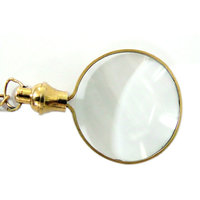 GRAND FATHER MAGNIFYING GLASS -EASY TOI HANDLE WITH CHAIN - HCF1060