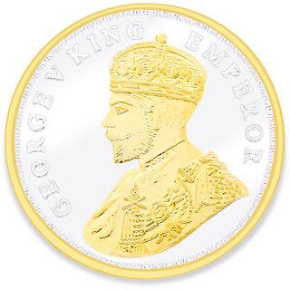Taraash 999 Silver Gorge V King Emperor 50 Gram Coin COIN-GVKG 50G