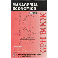 MS9 Managerial Economics(IGNOU Help book for MS-09 in English Medium)