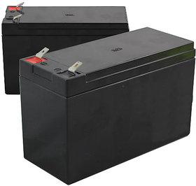 BATTERY 12 VOLT 1300mAh- Rechargeable battery-2qty