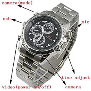 OnsKart Spy Wrist Watch  Camera 4Gb Inbuilt Memory