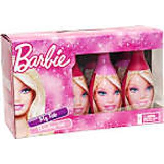 Barbie bowling game set of 6 pin and 2 balls (box)