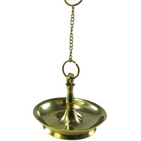 HANGING PURE BRASS DIYA-OIL LAMP - HCF1097