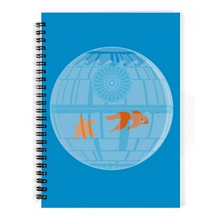 The Fappy Store Deathstar-Fish-Bowl Notebook