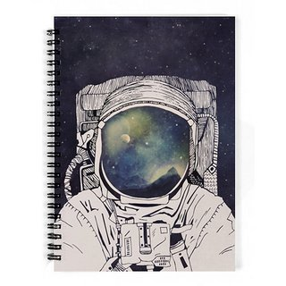 The Fappy Store Dreaming-Of-Space Notebook