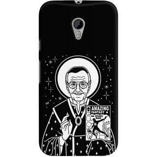 The Fappy Store stan jesus lee Black Back Cover for Moto G3