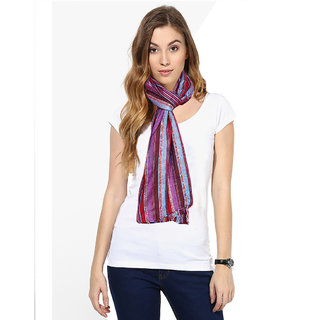 IndiWeaves Women Soft Luxurious Viscose Stole for All Seasons-80296-IW-ST