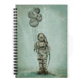 The Fappy Store Balloon-Fish Notebook