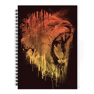The Fappy Store Fierce-Lion Notebook