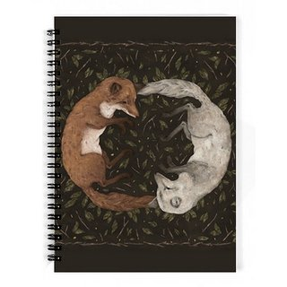 The Fappy Store Foxes Notebook