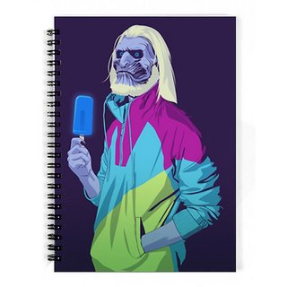 The Fappy Store Game-Of-Thrones-8090S-Era-Characters-White-Walker Notebook