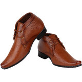 8e8ddb7ff29 Buy Lee Cooper Men s LC2160 Tan Formal Shoes Online   ₹2999 from ...