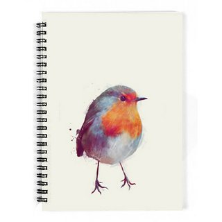 The Fappy Store Winter-Robin Notebook