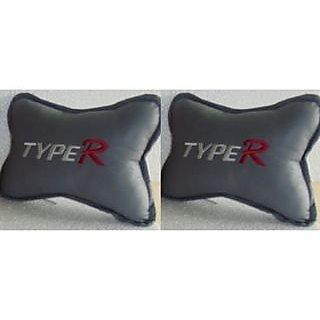 Type R Grey Car Seat Neck Cushion Pillow