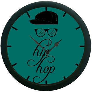 AE World Hip Hop Wall Clock (With Glass)