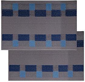 Status PVC Large Bath Mat Bath Floor Mat (Blue)