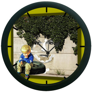 AE World Child Wall Clock (With Glass)