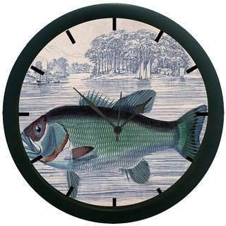 AE World Fish 3D Wall Clock (With Glass)
