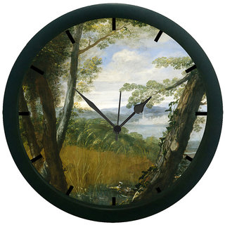 AE World Landscape 3D Wall Clock (With Glass)