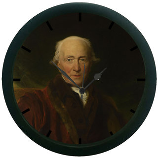 AE World Man 3D Wall Clock (With Glass)