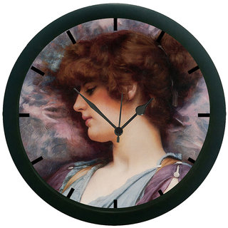 AE World Lady Sleeping 3D Wall Clock (With Glass)