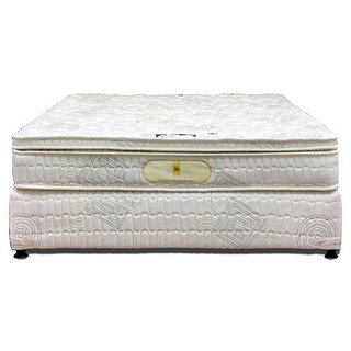 Shobha Restoplus Genesis 8-inch Single Size Spring Mattress (White, 78x36x8)